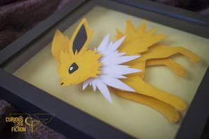 Pokemon #135 Jolteon - 8x8 by CuriousFiction