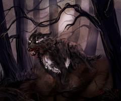 Werewolf by Araxel