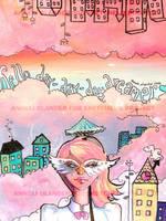 Sketchel 2- Hello daydreamer by OhAnneli