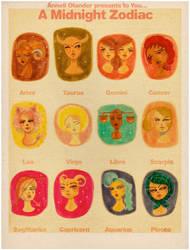 Zodiac Pouty Girls by OhAnneli