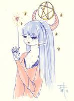 Pentagram Pretty 1 by OhAnneli