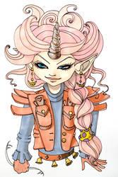 Unicorn Girl by OhAnneli