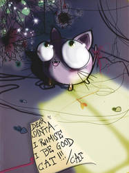 i be good cat by OhAnneli