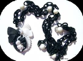 Yin and Yang Kitties by Bojo-Bijoux