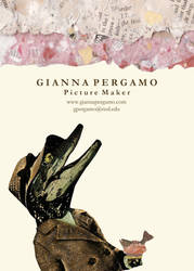 Crocodile Postcard by GiannaPergamo