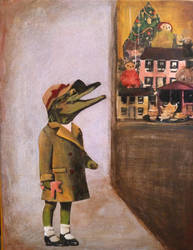 Holiday Croc by GiannaPergamo