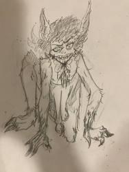 Winnie The Werewolf by PingPongPonies