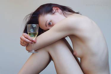 Glass of Wine II by JasonRCFB