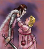 The Leech Lord and Fat Walda by kethryn