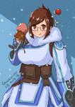 Mei Overwatch fanart by Garry-Ho