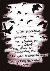 Blackbirds by Hellloou