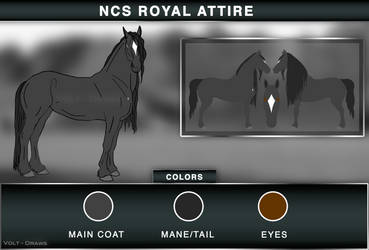 NCS Royal Attire by Volt-Draws