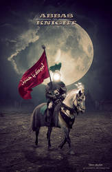 Abbas the Knight by ya-alkarbalai