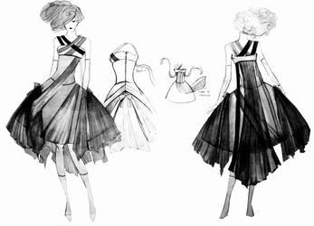 dress design by HeartySpades