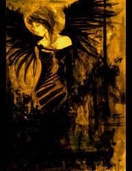 . fallen angel . by HeartySpades