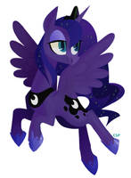 princess of the night by spacekitsch