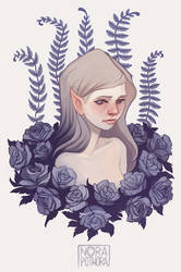 Rose by norapotwora