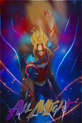 Toshinori Yagi All Might by Maxell97