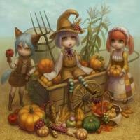 Halloween by Daiyou-Uonome
