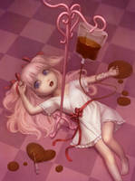 Happy Valentine's Day and Chocolate by Daiyou-Uonome