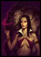 Vampirella by guterrez