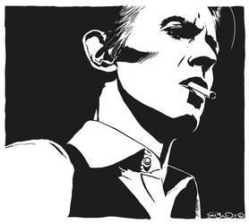 David Bowie by ra3ndy