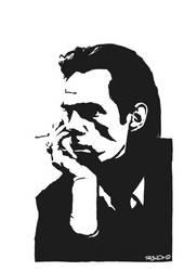 Nick Cave by ra3ndy