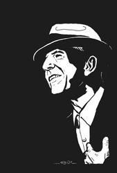 Leonard Cohen by ra3ndy