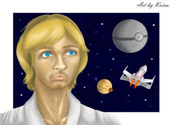 JulyOfBoys #7: Luke Skywalker by Emeramice