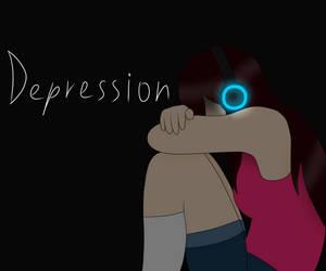 Depression by Kacha9Tails