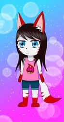 Chibi Kitsune by Kacha9Tails
