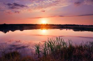 september sunset by StargazerLZ