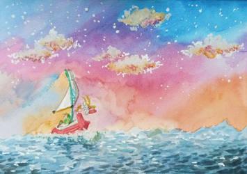 Great Sea by PitchBlackEspresso