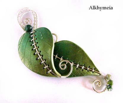 Chlorophyll, the Pendant by Alkhymeia