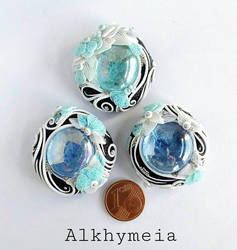 Gocce in Azzurro by Alkhymeia