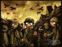 Heroes of War by dholl