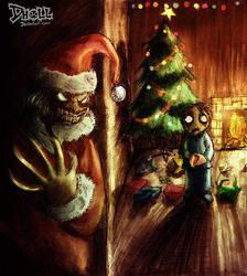 Santa Claws by dholl