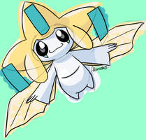 Jirachi by skeletall