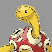 Shuckle by skeletall