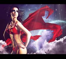 SUPERWOMAN by deadengel
