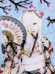 hundred colours of spring by ShirubaaNeko