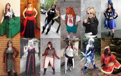 2014 cosplay recap! by Nullien
