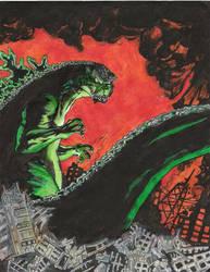 Godzilla_2 by JakeW