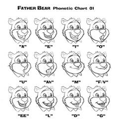 Father Bear Phonetics Sheet by dagracey