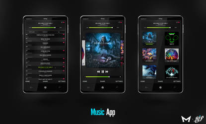 Music App by Malcov by Malcov