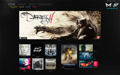 Marketplace: Featured Page by Malcov KJF by Malcov