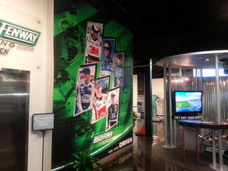 Right Side/Roush Fenway Museum wall by graphicwolf