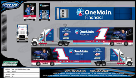 1XS15 One Main Financial Hauler FINAL by graphicwolf