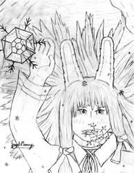 OC Yuki Usui Sketch by jackelopeking