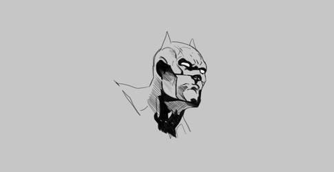 Batman Doodle by JScomics